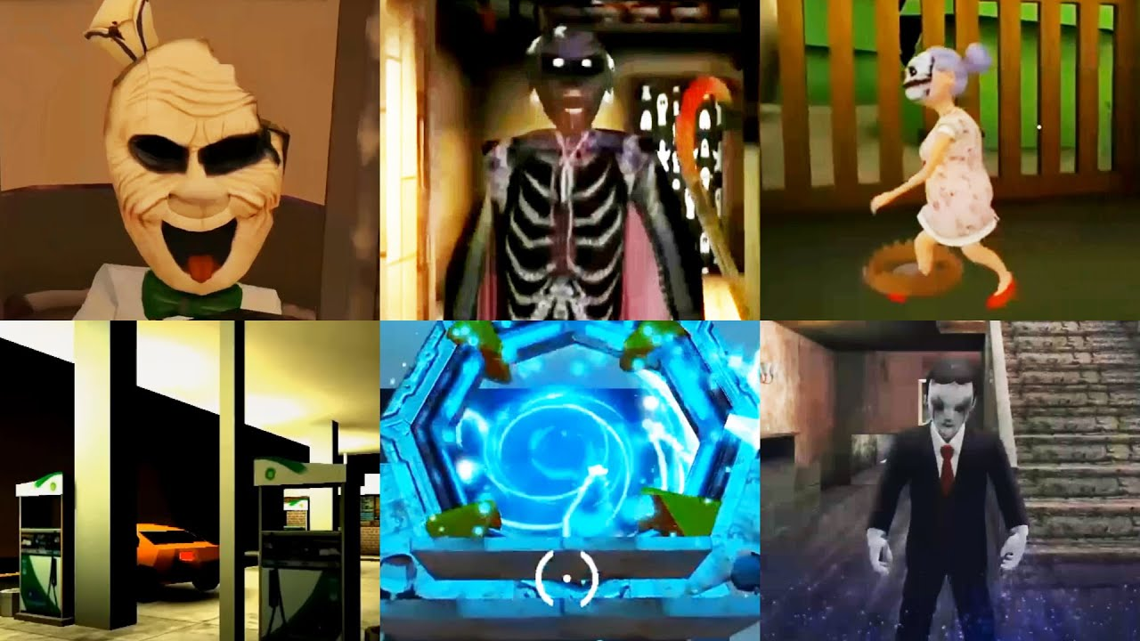 Best Ending #12 Joker Rod - Halloween Granny 2 - Grandpa&Granny -Mr Dog - Dark Riddle -  Evil Doll