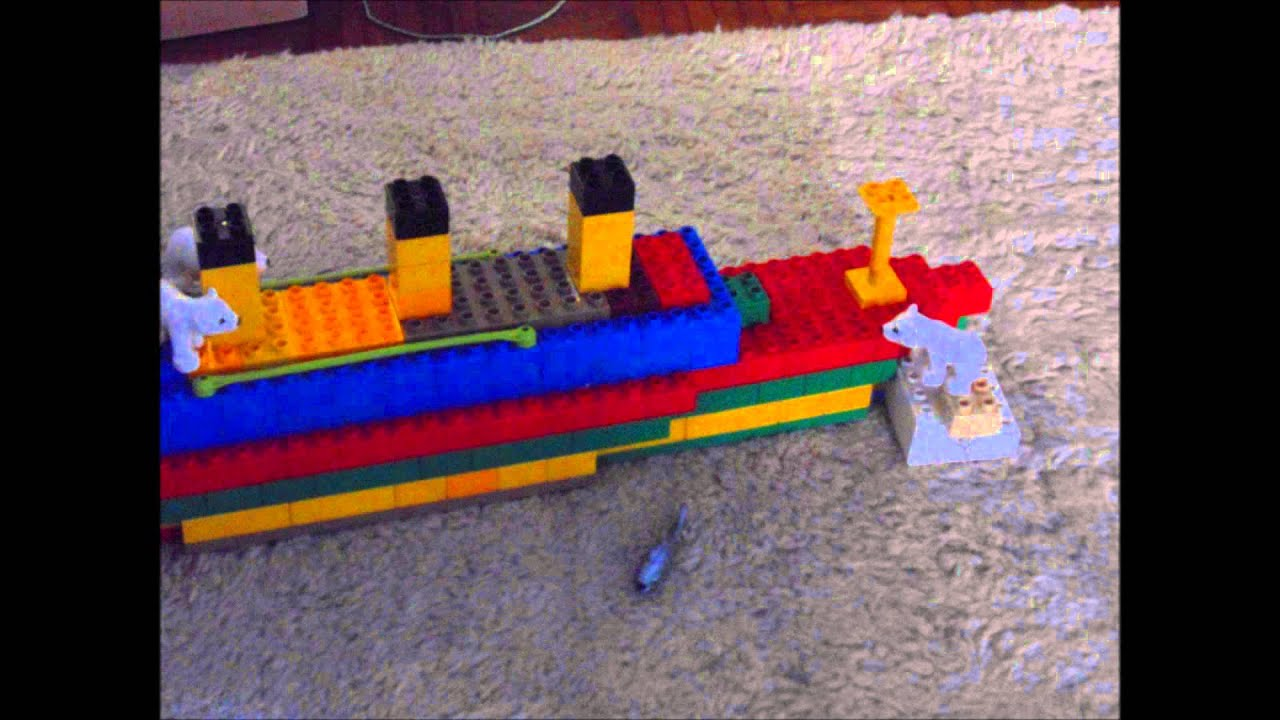 Lego Duplo Titanic Mini Youtube