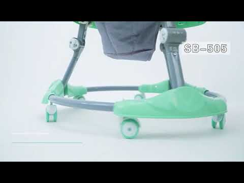Space Baby Walker 505 506 - YouTube