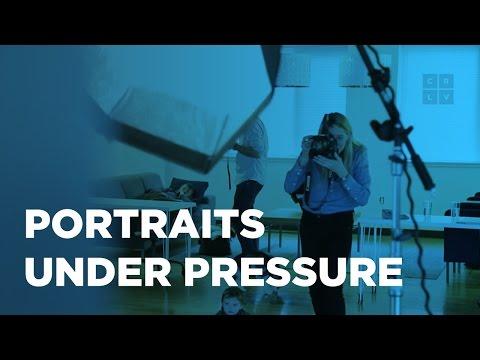 Portraits Under Pressure With Victoria Will
