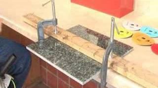 Fabricate Granite  Profile  Polish granite Edge ON A BUDGET