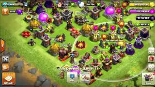 Clash of Clans Timelapse: Maxing Out My Whole Base! 1/2 Million Gems!