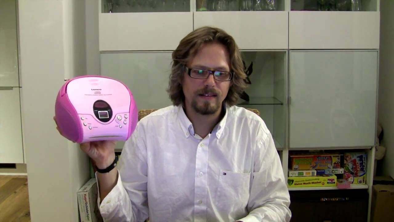 Kinder CD Player Test   Begrüßung