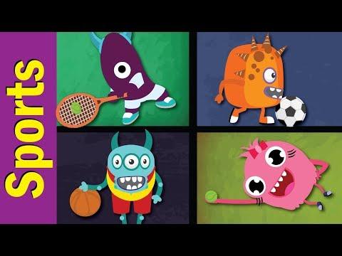 Sports Song | Do You Like Sports? | Fun Kids English