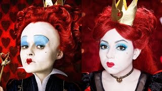 Alice Through The Looking Glass - Red Queen Makeup!