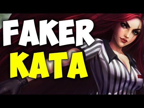 Faker Back To Main Account With Amazing New Katarina Mechanics | Be Challenger
