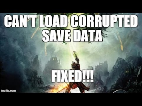 how to delete corrupted save data