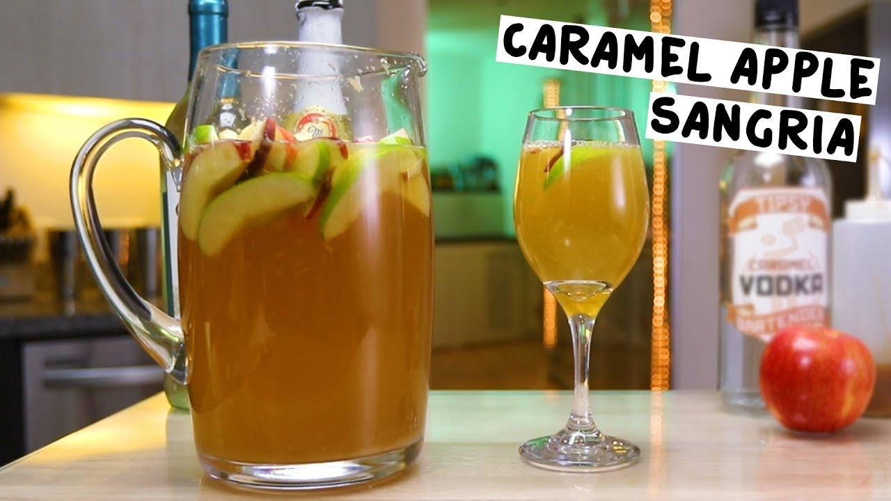 Caramel Apple Sangria - YouTube