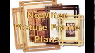 No Miter Picture Frame Plans