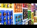 LEGO Collectible Minifigure Series display! 340+ minifigs!