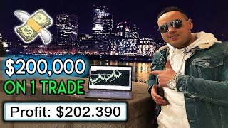 I Put $200,000 On 1 Forex Trade (Insane)