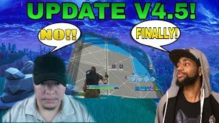 R.I.P. Pencil Warriors :( Fortnite Battle Royale V4.5 Patch Notes Review