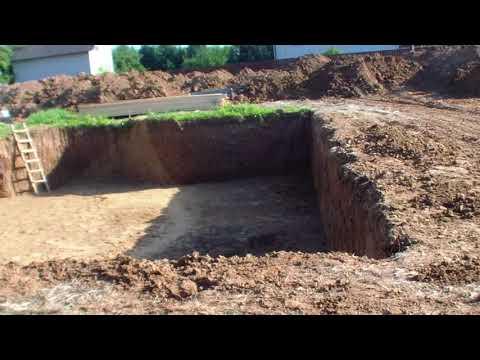 Как правильно выкопать котлован