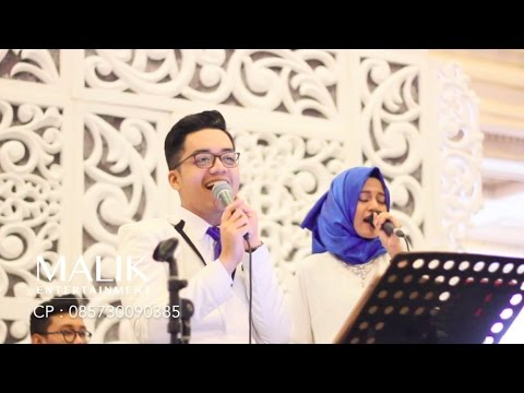 Penantian Berharga (COVER) - Rizky Febian  | BAND WEDDING SURABAYA | Malik Entertainment
