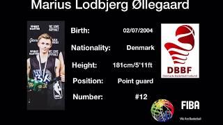 14 YEARS OLD 5'11 DENMARK'S TOP POINT GUARD MARIUS ØLLEGAARD