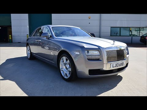Collecting A Brand New Rolls Royce Ghost
