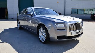 Collecting a brand new Rolls-Royce Ghost