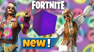 Fortnite BR: New Far Out Man Skin + Dreamflower Skin + Drumbeat HT + Tie-Dye Flyer In Item Shop!!!