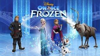 Disney Frozen Free Fall New Holiday Level - Light Up Christmas Lights!