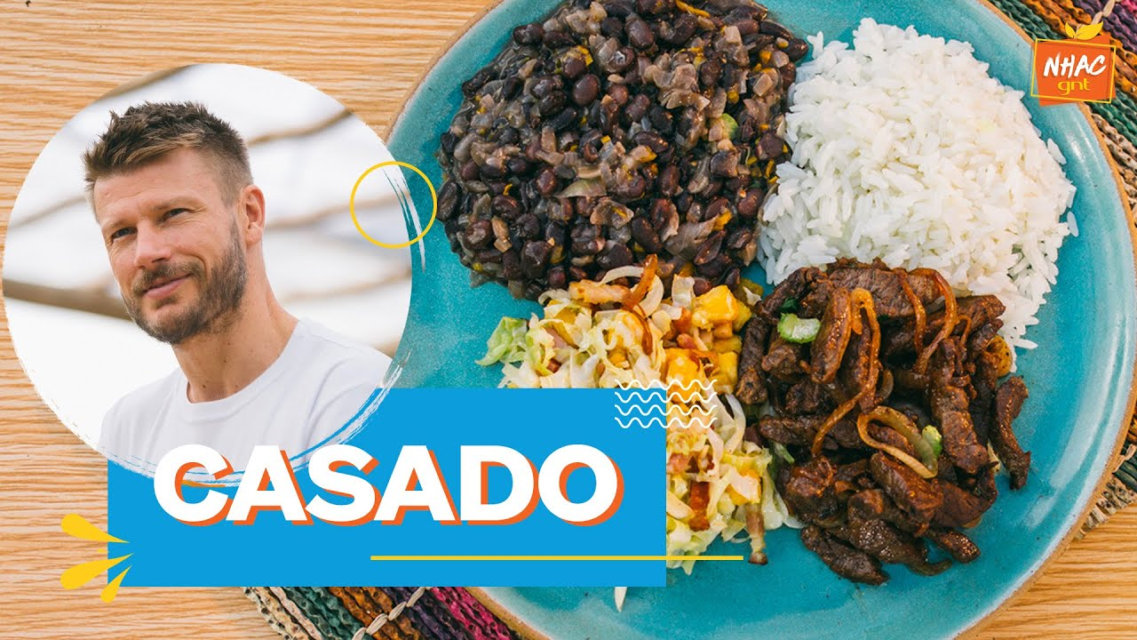 CASADO: aprenda a como fazer PF tradicional da Costa Rica   Tempero de Família