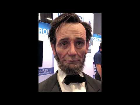 Abraham Lincoln Robot!