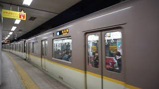 昼下がりの 阪神なんば線 桜川駅で撮影