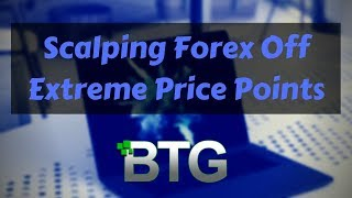 Scalping Forex Off Extreme Price Point - Live NADEX Trading