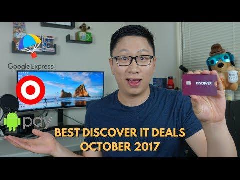 Best Discover It Deals October 2017 (Targeted)