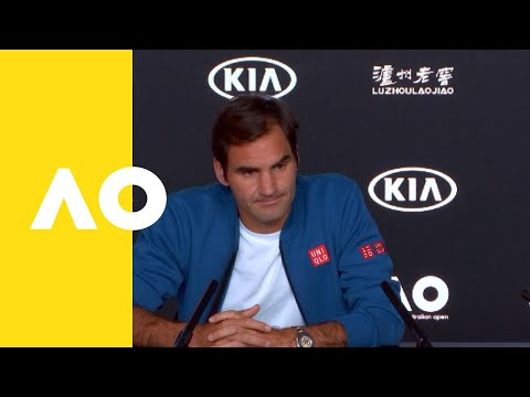 Roger Federer pre-event press conference | Australian Open 2019
