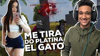 A PLATINA QUER AJUDA DO EL GATO PRA PEGAR MESTRE FREE FIRE!