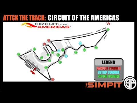 Attack the Track - Circuit of the Americas by The Simpit