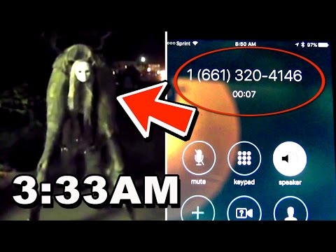 DO NOT CALL THIS PHONE NUMBER AT 3:33 AM (MUST WATCH - CURSED)