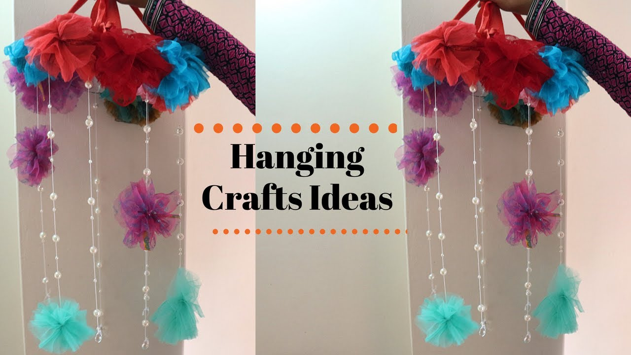 Diy wall craft decoration wall hanging crafts ideas for Wall hanging ideas from best out of waste