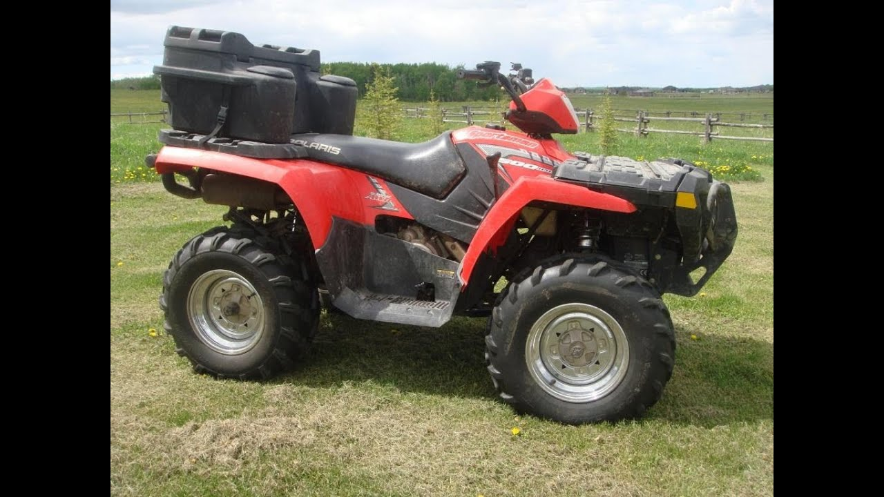 2005 polaris sportsman 500 ho youtube. Black Bedroom Furniture Sets. Home Design Ideas