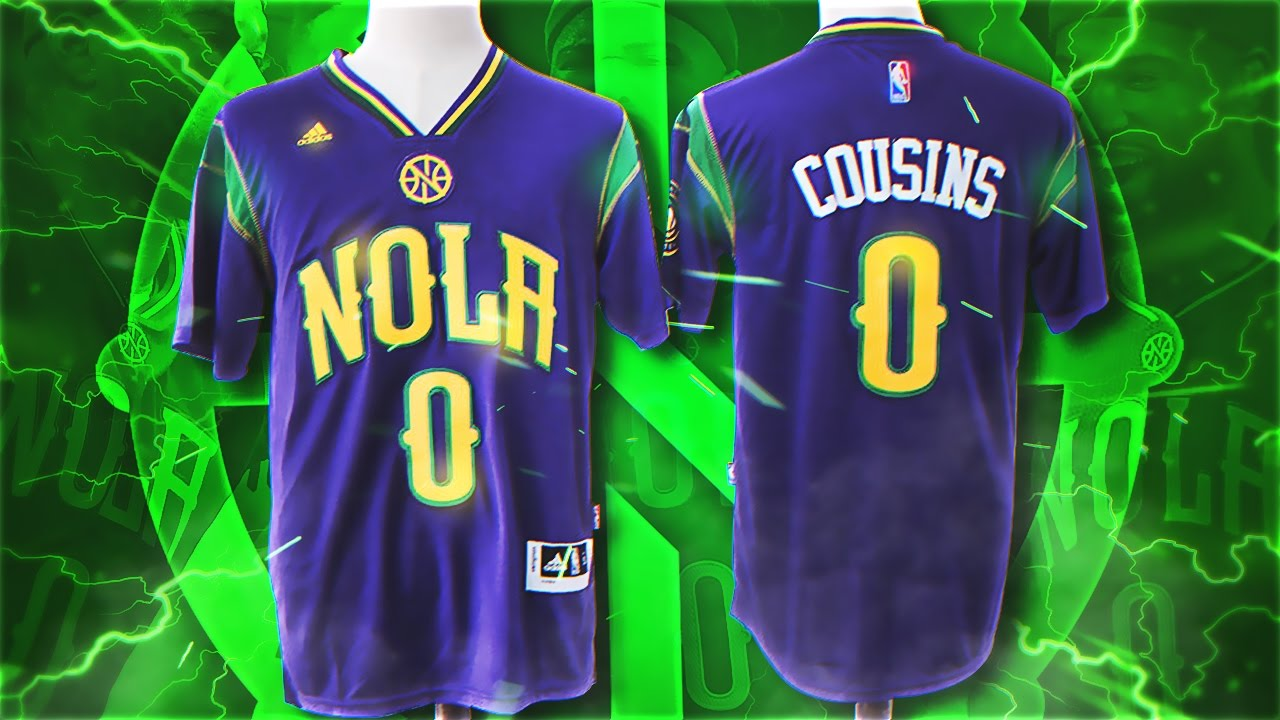 low priced c8799 61077 UNBOXING CAMISETA NBA DHGATE | NEW ORLEANS PELICANS DEMARCUS COUSINS