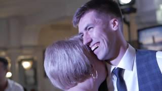Такой трогательный танец жениха С Мамой