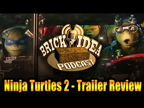 "Ninja Turtles 2 -Trailer Review ""...It's Tricky!"""