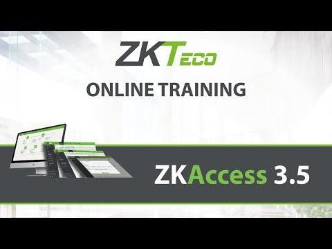 ZKAccess 3.5 - Training