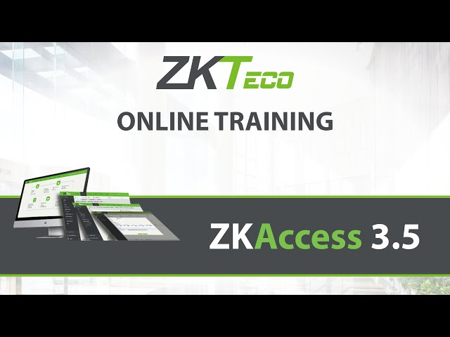 Zkteco Time Attendance Software Configuration