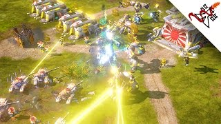 Command & Conquer: Red Alert 3 - 3vs3 Multiplayer Gameplay