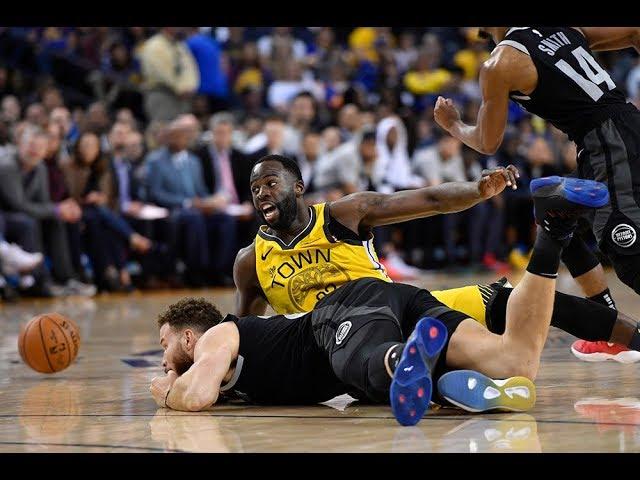 Golden State Warriors' Draymond Green on his defense of Detroit Pistons' Blake Griffin