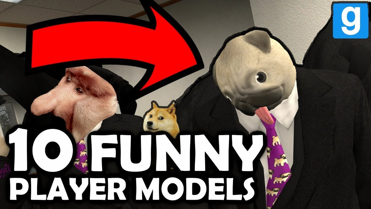 10 WTF Player Models In Garry's Mod (+ Easter Egg Hunt) HD