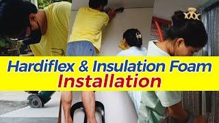 Kwarto Ko, Gawa Ko | Hardiflex and Insulation | Part 3