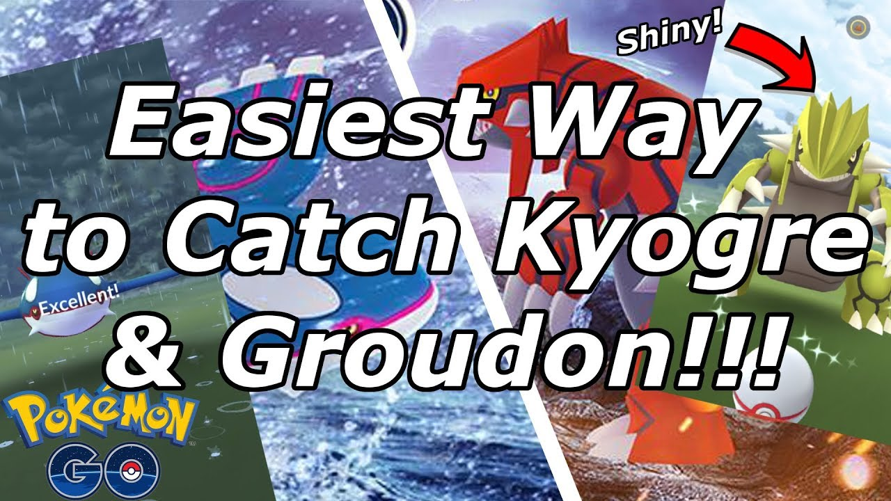 Pokemon Go: Last Chance to Catch Kyogre and Groudon