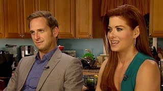 Debra Messing & Josh Lucas Interview: Mysteries of Laura | TODAY