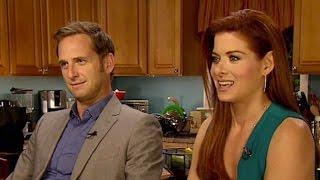 Debra Messing & Josh Lucas Interview: Mysteries of Laura | TODAY
