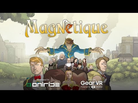 Magnetique is VR's first 3D, 360-degree comic book