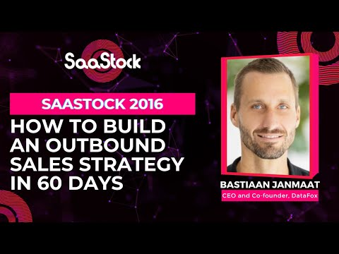 How to build an outbound Sales strategy in 60 days
