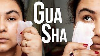 I Did GUA SHA on PUFFY SKIN  for a week {Delhifashionblogger}