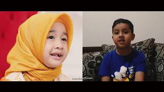 Aishwa Nahla ft Muhammad Hadi Assegaf & Aisyah Naqasyi - Sa'duna Fiddunya (medley)